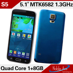 S 5 Phone Dual Core 5 Inch Mtk6572 3G WCDMA 4D Air Gesture Which Android Phone