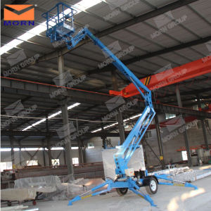 Top Quality Hydraulic Lift Platform Truck for Maintenance pictures & photos