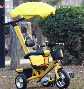 Three Wheels Tricycle with Push Handbar Baby Bike pictures & photos