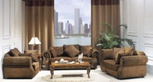 Hotel Furniture/Hotel Sofa/Living Room Sofa/Apartment Sofa/Hospitality Sofa (GL-021) pictures & photos