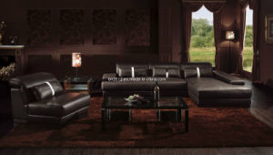 Living Room Genuine Leather Sofa (SBO-3921) pictures & photos