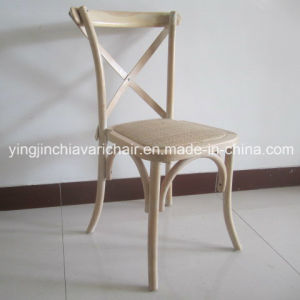 Natural Wood Cross Chair for Wedding