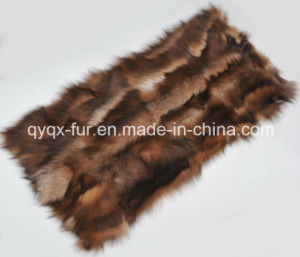 Fluffy and Smooth 100% Genuine Fox Fur Plate for Garment pictures & photos