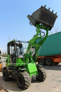 Zl06f 0.6ton Hydraulic Transmission Mini Front End Loader pictures & photos