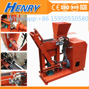 Diesel and Electric Model Hr1-25 Advanced Hydraulic Lego Brick Machine Soil Clay Interlocking Brick Making Machine Price pictures & photos