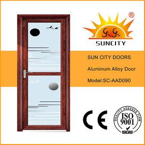 Mirror Tinted Glass Aluminum Doors Interior (SC-AAD089) pictures & photos