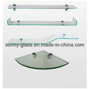 10mm 8mm Edge Work Polished Tempered Shelf Glass pictures & photos