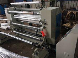 Rtfq-1500c Jumbol Roll Aluminium Foil Vertical Slitting and Rewinding Machine pictures & photos