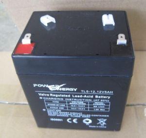Tl12-5 12V5ah VRLA Sealed Lead Acid UPS Battery pictures & photos
