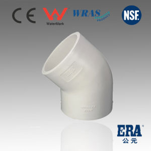 PVC Fitting Pressure DIN 45D Elbow Made in China Quality pictures & photos