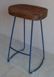 Wooden Bar Stools Chairs / Hotel Restaurant Table Furniture pictures & photos