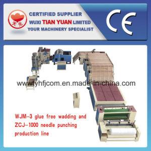 Glue Free Wadding and Needle Punching Felt Production Line pictures & photos
