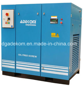 Non Lubricated Oil Free Rotary Screw Air Cooling Compressor (KE110-08 ET) pictures & photos