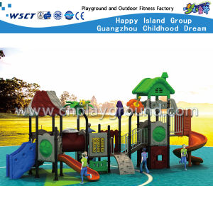 Cheap Outdoor Playground Children Slide Play Equipment HD-Tsh004 pictures & photos