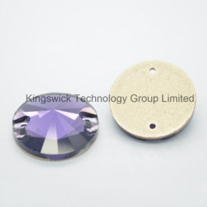 Wholesale Amethyst Rivoli Sew on Stone for Clothes Decoration pictures & photos