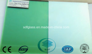 Dark Green Reflective Glass with Ce, ISO 4mm to 10mm