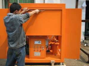 Portable and Small Capacity Transformer Oil Filter Unit pictures & photos