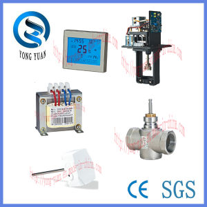 3-Port Electric Ball Valve Motorized Valve for Air Conditioner (BS-878.40-3) pictures & photos
