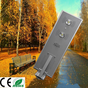 70W Easy Install All in One LED Solar Street Light Integrated Solar Street Light pictures & photos