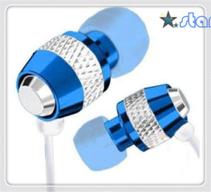 High Quality Metal Earphone 3.5jack for Mobile Phone