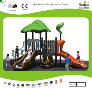 Kaiqi Small Cute Woodland Themed Children′s Playground (KQ20017A) pictures & photos