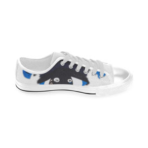 Style No Custom Sneaker 035 Low Cut Print Unisex Canvas Casual Shoes Custom Canvas Sneakers pictures & photos