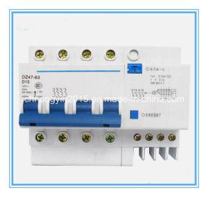 Dz47-63 4p+N D Type 10 a Miniature Circuit Breaker pictures & photos