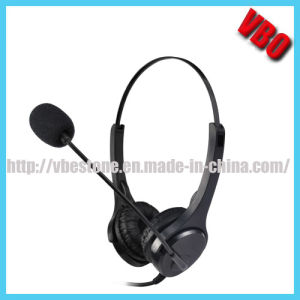 Binaural Telephone Heaset with Noise Cancelling Microphone and Qd pictures & photos