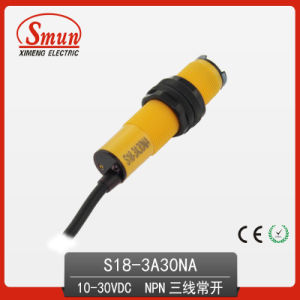Photoelectric Switch (S18-3A30NA) Photoelectric Sensor pictures & photos