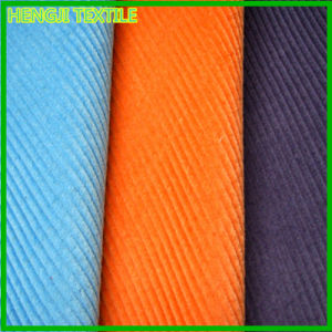 100% Cotton 14W Corduroy Fabric for Garment (900-02)