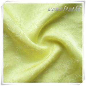 40s60c Jacquard Silk Cotton Blend Fabric pictures & photos