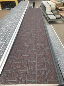 Carved Metal Steel Facing Facade Sandwich Panel pictures & photos