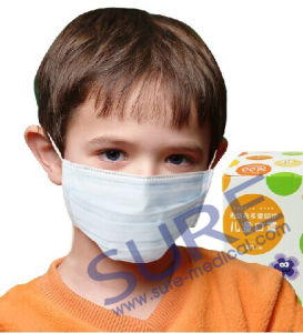 High Quality Disposable Children Face Mask -3ply (SR4011-4) pictures & photos