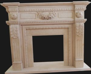 Mantel, Marble Fireplace (FRP501) pictures & photos