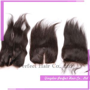 Remy Hair Human Top Closure Virgin Queens Hair Lace Closure pictures & photos