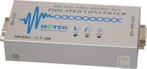 Commercial High-Powered Photoelectric Isolation Converter From RS-232 to RS-485/422 (UT-208)