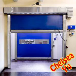 Industrial Electric PVC High Speed Door, High Speed Rolling Door, High Speed Roller Shutter Door (ST-001) pictures & photos