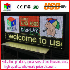 P6 Outdoor RGB Full-Color LED Video Display Size 25X 55 Inches Advertising Video, Image and Text LED Sign pictures & photos