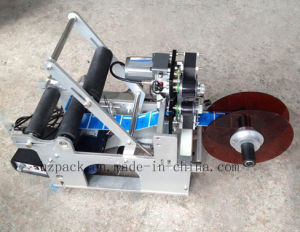 Semi-Automatic Round Bottle Label Applicator with Date Printer pictures & photos