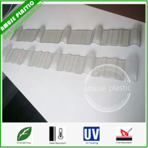 Makrolon Corrugated Solid Plastic Building Roofing Polycarbonate Sheets Prices 2017 pictures & photos