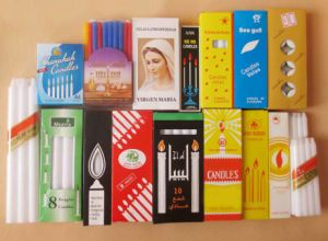 9g~95g White Stick Candle Factory in China