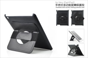 Handheld Multi-Function Rotating Pretection Leather Case pictures & photos