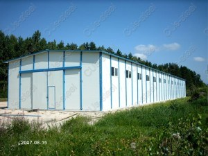 Steel Warehouse Construction/ Construction Design Steel Structure Warehouse (DG1-038) pictures & photos