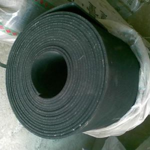 3mm Fabric Impressed Industrial SBR Rubber Flooring Mat pictures & photos
