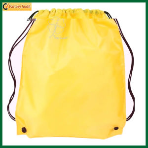 Promotion Duffel Bag Polyester Drawstring Backpack Bag (Tp-Bp020) pictures & photos