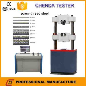 Waw-600b Computerized Hydraulic Universal Testing Machine for Steel Strand Tensile Strength Test pictures & photos
