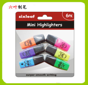 6pk Mini Highlighter Pen, Stationery Set, SL-3306 pictures & photos