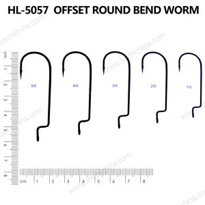 Top Quality Bend Worm Hook pictures & photos