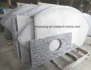 Wave White Granite Countertop for Kitchen, Hospitality (YY-GC007) pictures & photos