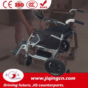 Lightweight Folding Aluminum Alloy Frame Electric Power Wheelchair pictures & photos